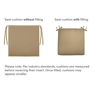 Outdoor Chaise Lounge Cushion Fabric: Basalto Jute