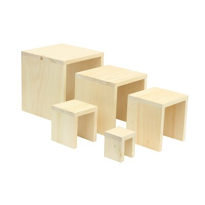 5 Piece Square Riser Set