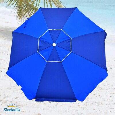 8 Premium Beach Umbrella with Hanging Hook