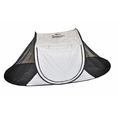 Free-Standing Instant Pop-Up Mosquito / Bug 1 Person Tent with Carry Bag Color: Gray