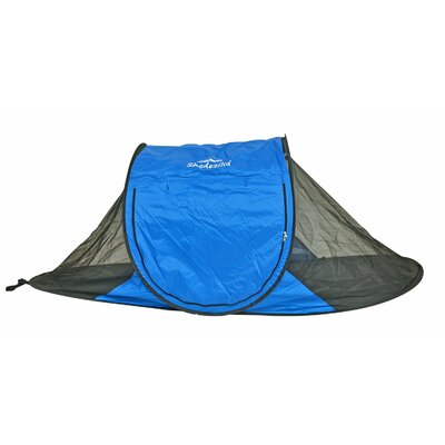 Free-Standing Instant Pop-Up Mosquito / Bug 1 Person Tent with Carry Bag Color: Blue
