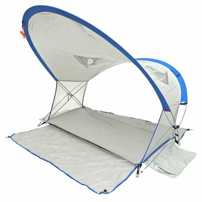 Deluxe 360 View Aerodynamic 2 Person Tent with Carry Bag Color: Shower