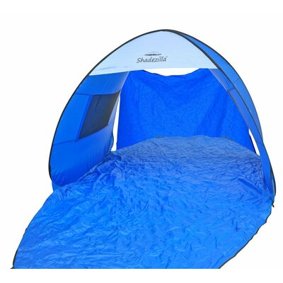 Instant Pop-Up Family 2 Person Tent with Carry Bag Color: Sky Diver