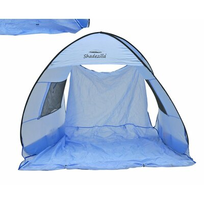 Instant Pop-Up Family 2 Person Tent with Carry Bag Color: Baby Blue