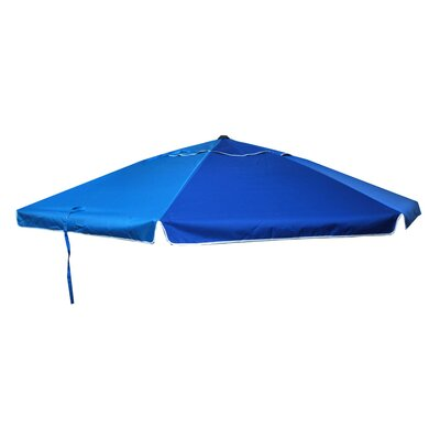 Adilene 9 Market Umbrella Finish: Blue