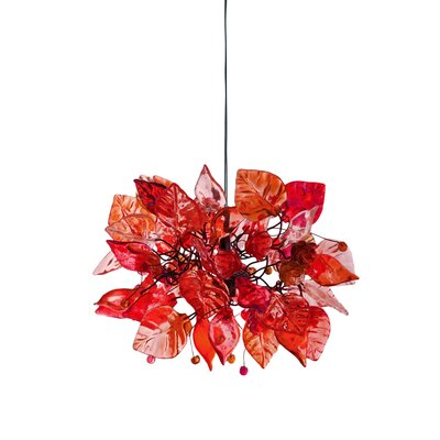 1-Light Mini Pendant Shade Color: Desert Sun