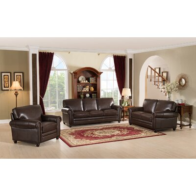 Coventry Top Grain Leather Living Room Collection