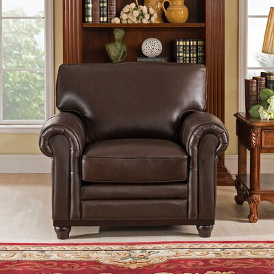 Coventry Top Grain Leather Club Chair