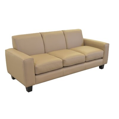 Columbia Genuine Top Grain Leather Sofa Upholstery: Burnham Oatmeal