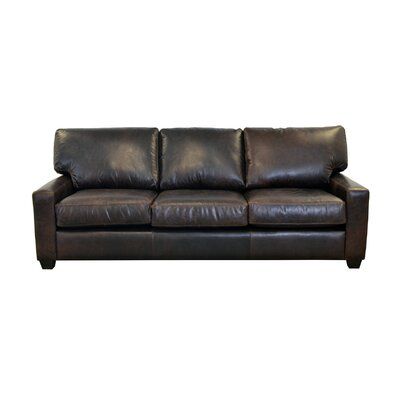 Kenmore Studio Genuine Top Grain Leather Sofa Upholstery: Brompton Espresso