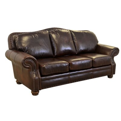 Parker Genuine Top Grain Leather Sofa Upholstery: Brompton Espresso