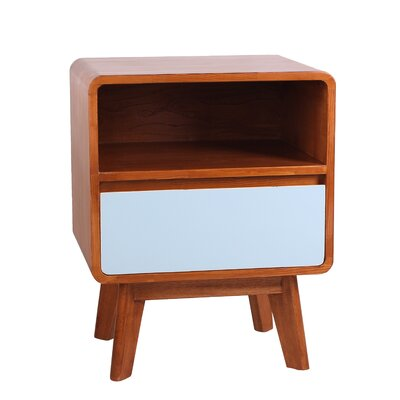 Wendy End Table Color: Aqua
