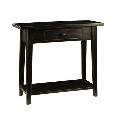 Celeste Console Table Color: Black