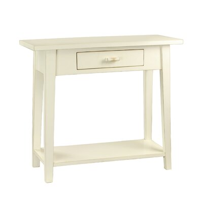 Celeste Console Table Color: White