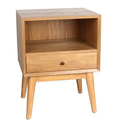 Jacobson End Table Finish: Natural