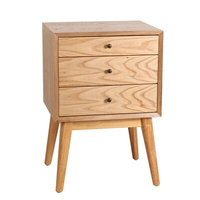 Malcolm End Table Color: Natural