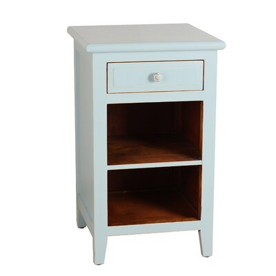Xander End Table Color: Aqua