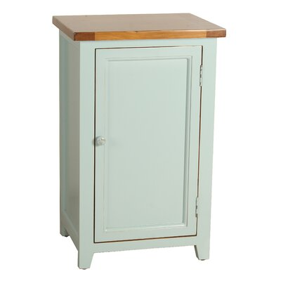 Eleanor End Table Color: Aqua