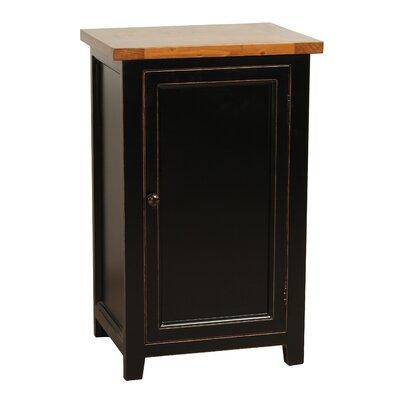 Eleanor End Table Color: Black