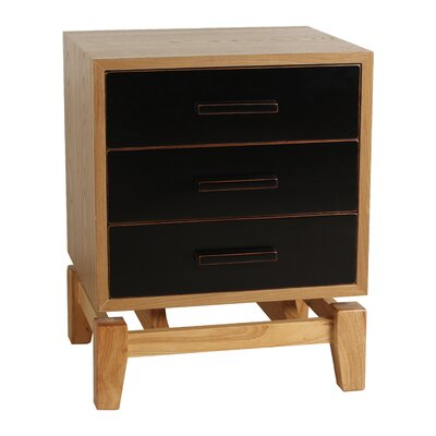 Hudson End Table Finish: Black