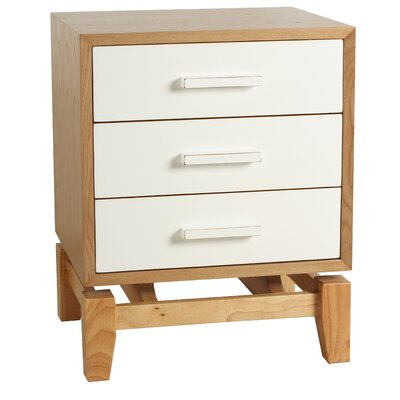 Hudson End Table Finish: White