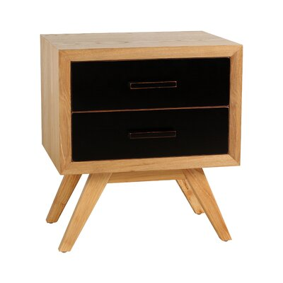 Braxton End Table Color: Black
