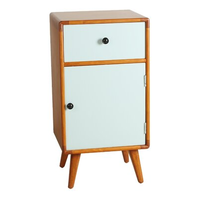 Vincent End Table Finish: Aqua