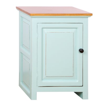 Curtis End Table Color: Aqua