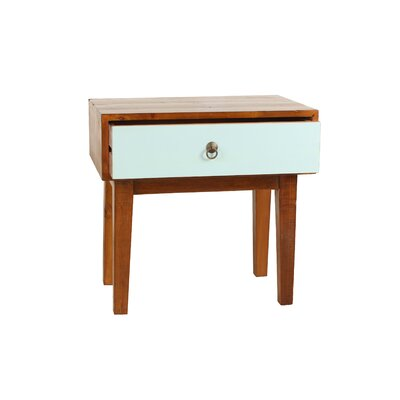 Giana End Table Finish: Aqua