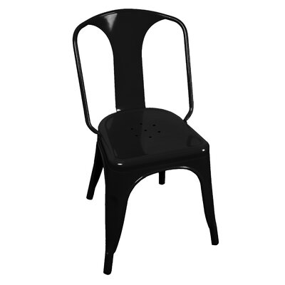 Joey Side Chair Finish: Black