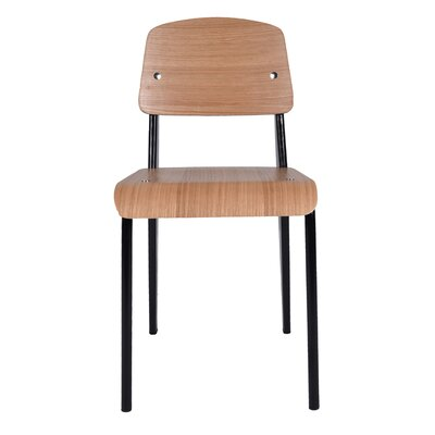 Jerome Side Chair Base Finish: Black