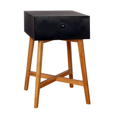 Julia End Table Finish: Black