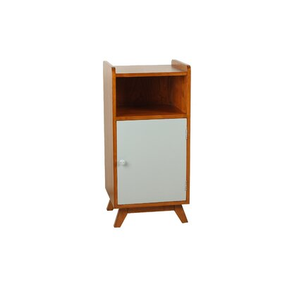 Margot End Table Color: Gray