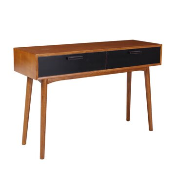 Carla Console Table Color: Black