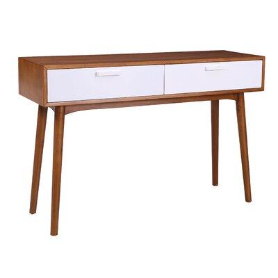 Carla Console Table Color: White