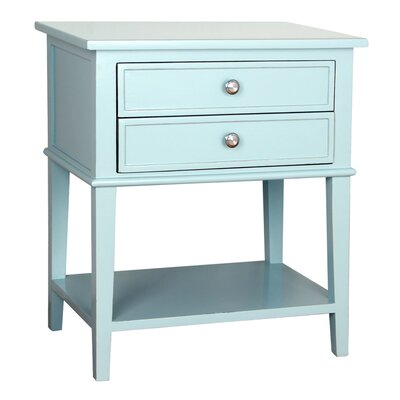 Avery End Table Color: Aqua