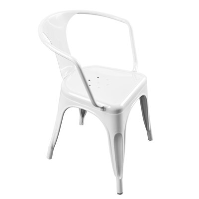 Harvey Armchair Finish: White