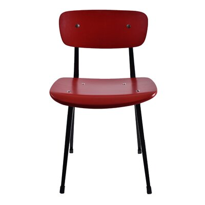 Alvin Side Chair Color: Red
