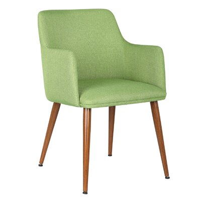Andra Leisure Armchair Upholstery: Meadow Green