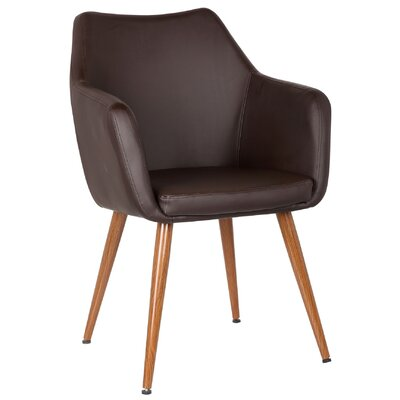 Aveline Leisure Armchair Upholstery: Dessert Chocolate