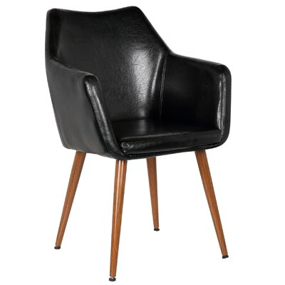 Aveline Leisure Armchair Upholstery: Polished Obsidian