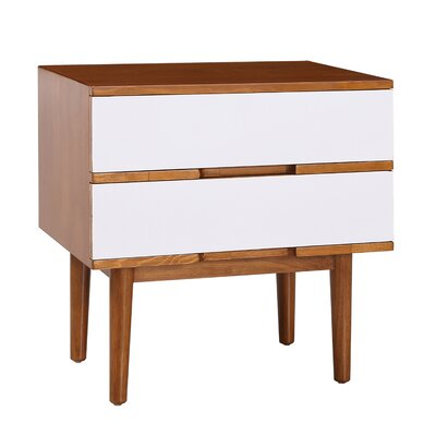 Sabrina End Table Finish: White