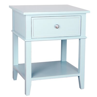 Gina End Table Finish: Aqua