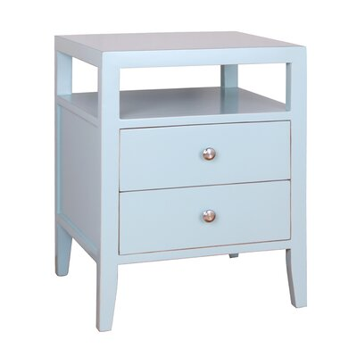 Hana End Table Color: Aqua