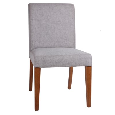 Eli Upholstered Side Chair Color: Coastal Gray