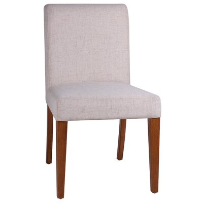 Eli Upholstered Side Chair Color: Cream