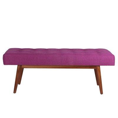 Porthos Home Etheline Upholstered Bedroom Bench - Color: Violet