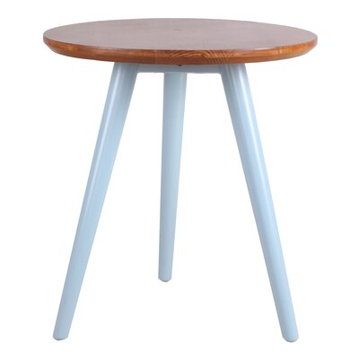 Emma End Table Color: Aqua