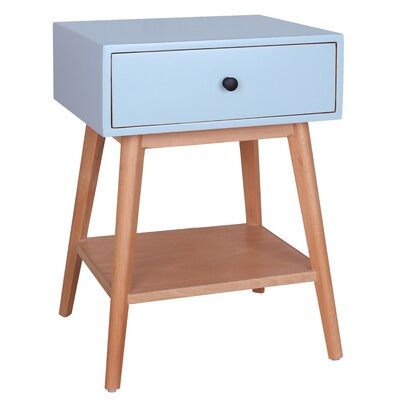 Jordan End Table Color: Aqua