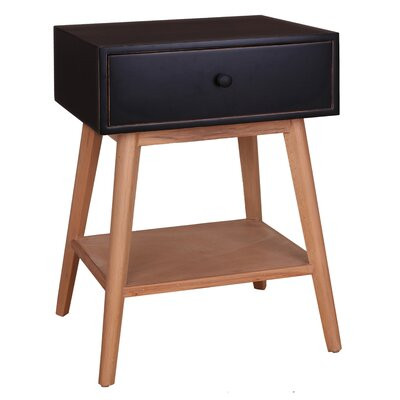 Jordan End Table Color: Black